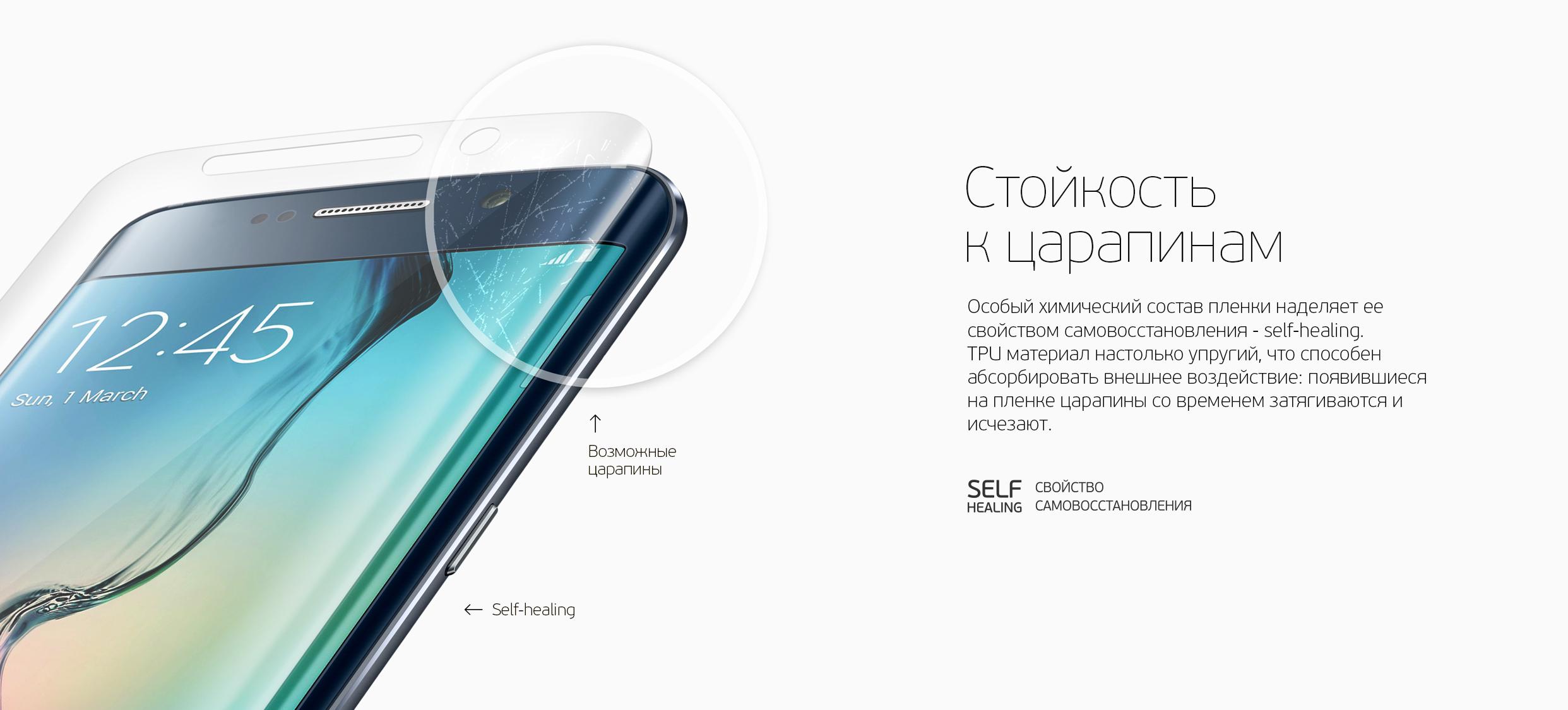 Защитная пленка TPU для Apple iPhone 6 Plus/6S Plus